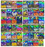 100 PCS Pokemon TCG Style Card HOLO EX FULL ART : 20 GX