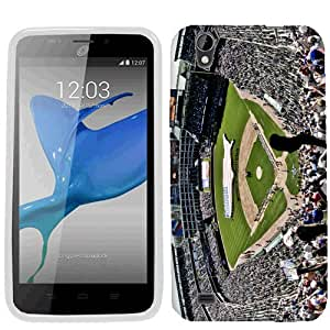 For ZTE Quartz Z797C Baseball Stadium Case Cover