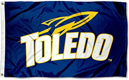 University of Toledo Rockets Flag 3x5ft Banner US Shipper