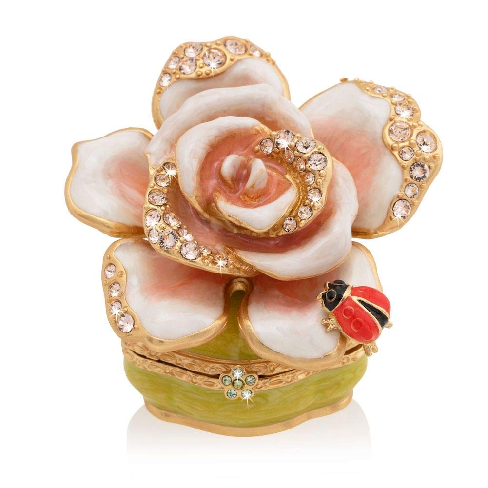 Jay Strongwater Diana Rose Box by Jay Strongwater (Image #1)