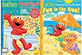 Sesame Street Potty Time Coloring and Activity Book With Full Color Checklist, Over 30 Reward Stickers and Potty Time Progress Poster Plus Fun In The Sun Coloring and Activity