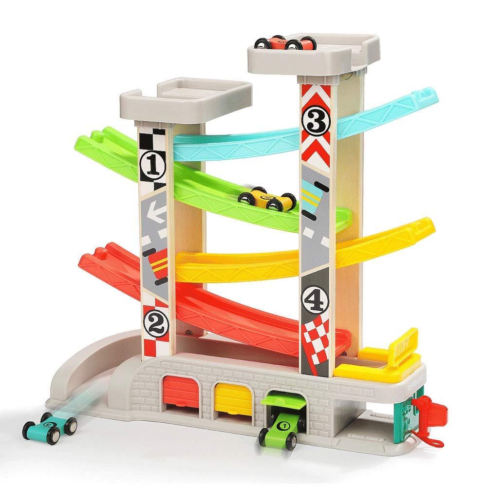 ZaiQu 子供用 おもちゃ テーブルゲーム 早期教育パズル 男の子 女の子 2~3歳 玩具 車 知育 グライダー レーシング おもちゃ C Z165235 C  B07KN9644P