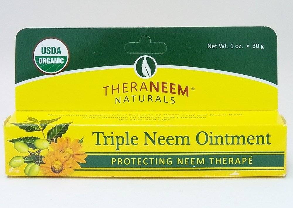 Triple Neem Ointment Organix South 1 oz Cream