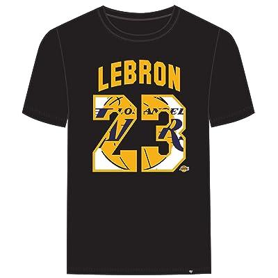 47' Men's Los Angeles Lakers Lebron James T Shirt: Clothing