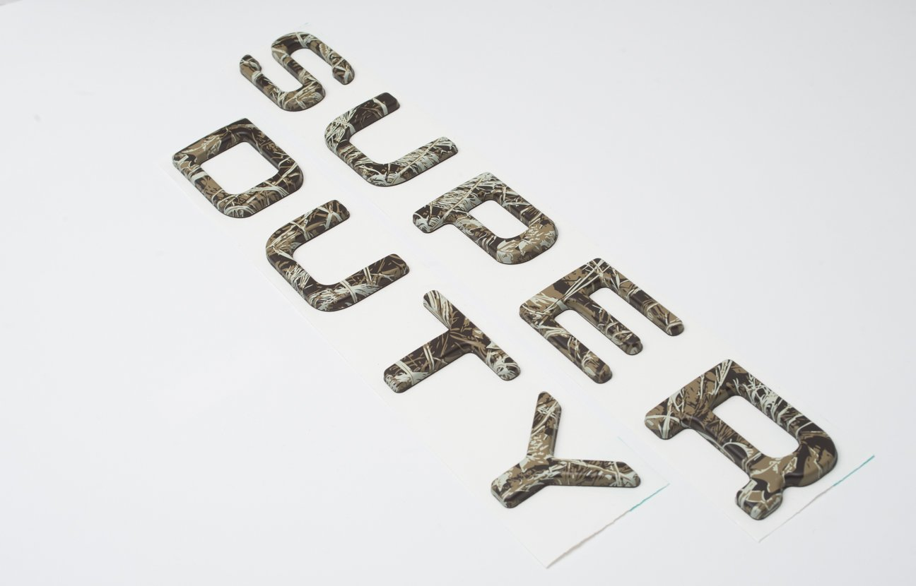 Camo Complete Appearance Ford Super Duty Tailgate Insert letters 2008-2016 Top Quality