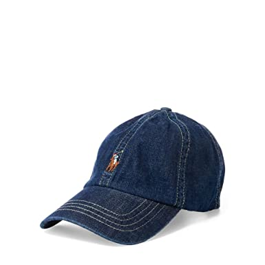 Ralph Lauren Polo Casquette baseball Big Pony chino - Enfant 6-14 ans (55 2f652172c2c