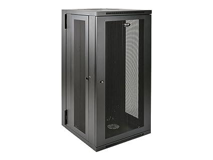 Tripp Lite 26U Wall Mount Rack Enclosure Server Cabinet, Hinged Back, 24 5  in  Deep, UPS-Depth (SRW26USDP)