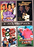 4-Movie Pack (Bye-Bye Birdie, Forever Together, Boys Will Be Boys & Invisible Dad)