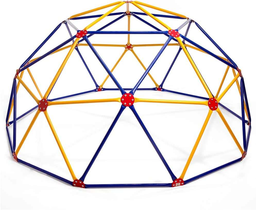 Easy Outdoor Space Dome Climber – Rust and UV Resistant Steel – 1000 lb. Capacity – For Kids Ages 3 to 9: Sports & Outdoors