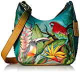 Anuschka Classic Hobo Side Pockets TBLS, Tropical Bliss, One Size
