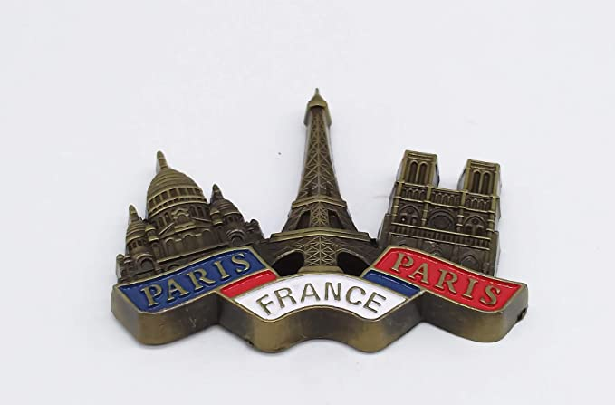 Torre Eiffel, Basílica del Sagrado Corazón, Notre Dame de Paris ...