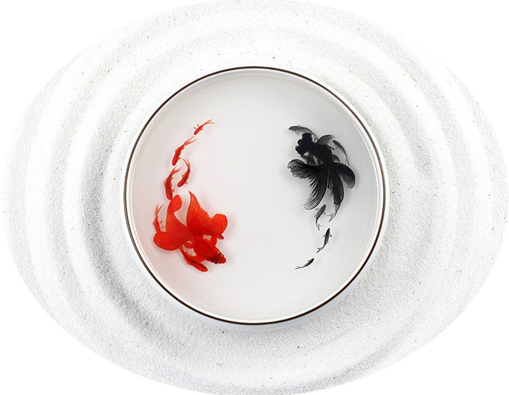 樹脂アート 3D金魚 ハンドメイド インテリア プレゼント (B) B06ZZSRHC9 B B