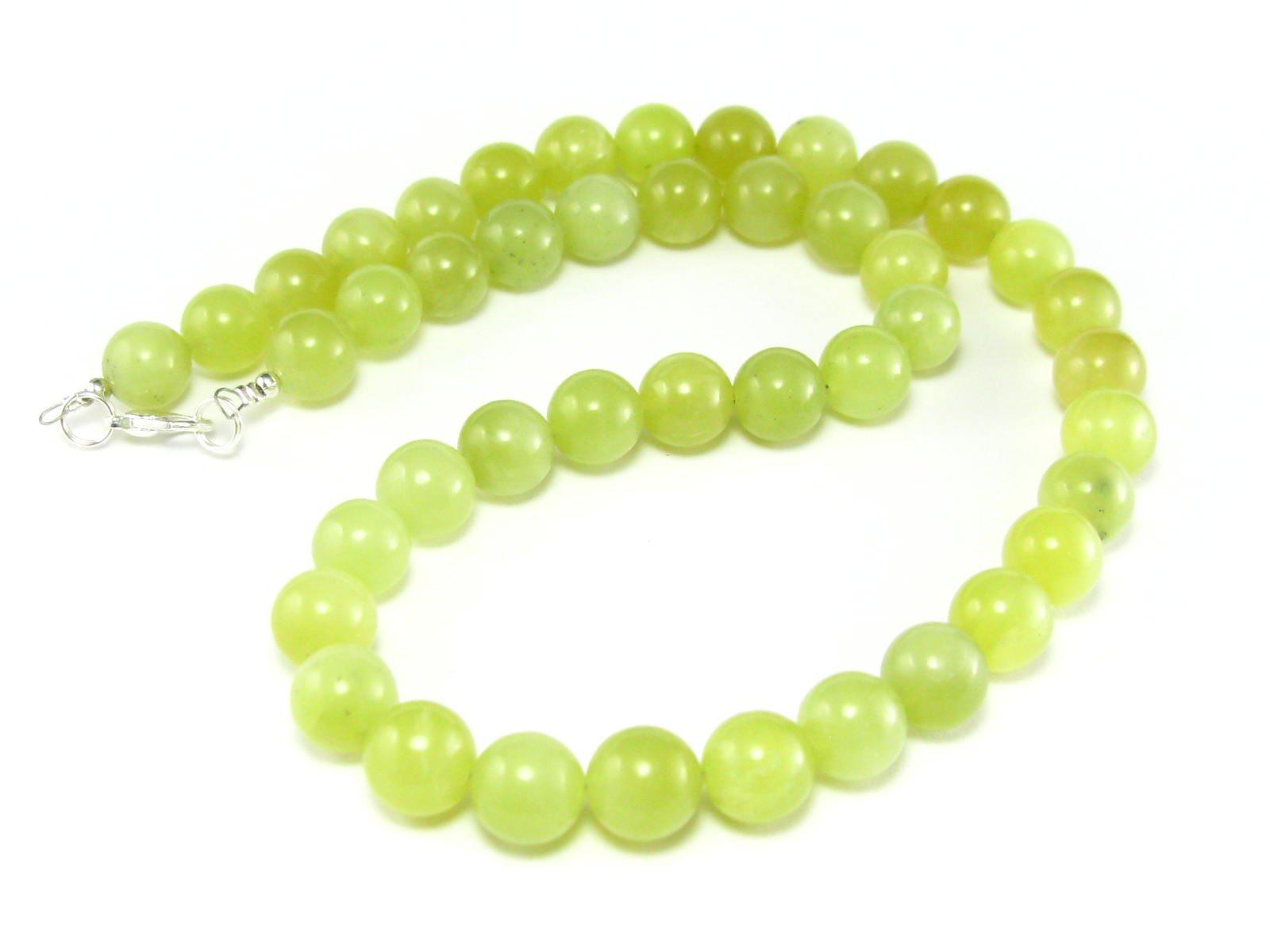 Healerite Necklace Beads - 19'' - 10mm Round Beads