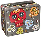Sugarbooger Retro Metal Lunch Box, Dia de Los Muertos