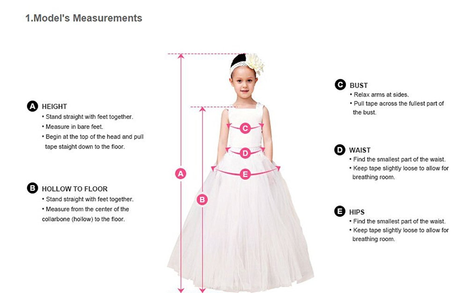 Christmas Flower Girl Dress Floor Length Button Draped Tulle Ball Gowns for Kids Size 8 by Abaowedding (Image #5)