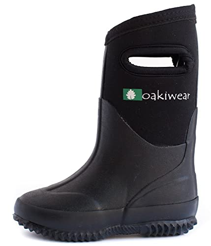 Amazon.com: Oakiwear Kid's Neoprene Muck Boots - Rain Boots…: Shoes