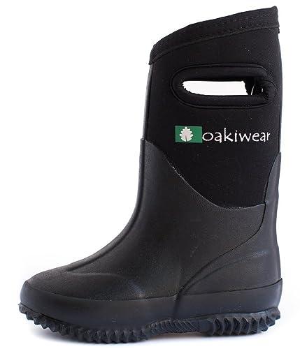 Amazon.com: Oakiwear Kid's Neoprene Muck Boots - Rain Boots…: Shoes
