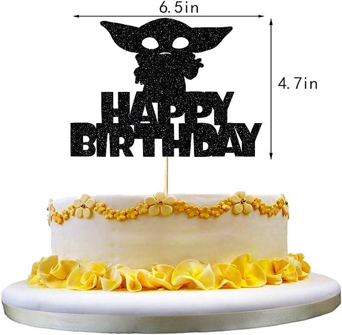 Alien War Themed Party Anxdh Alien War Darth Vader Cake Topper Decoration Childrens Birthday Party Decoration
