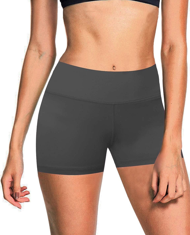 Shadowcharcoal(4  Inner Pocket) BUBBLELIME 2.5   4  Inseam Out Pocket Yoga Shorts Running Shorts Active