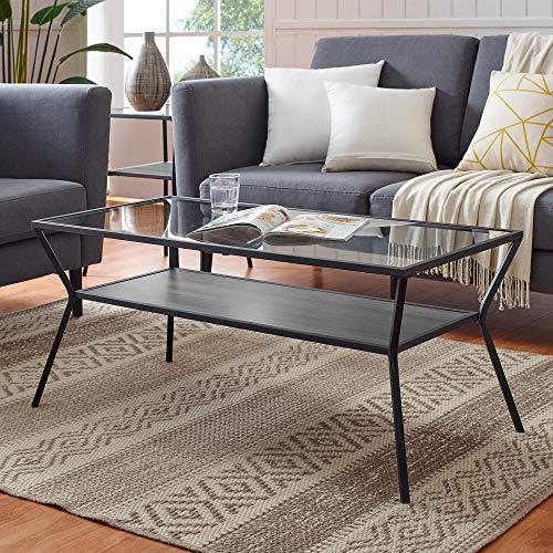 (WE Furniture AZF42KAYCTSG Coffee Table, Slate Grey)