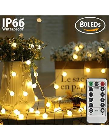 605f2583404 Amazon.es  Guirnaldas luminosas  Iluminación