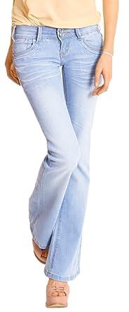 Bootcut jeans hellblau damen