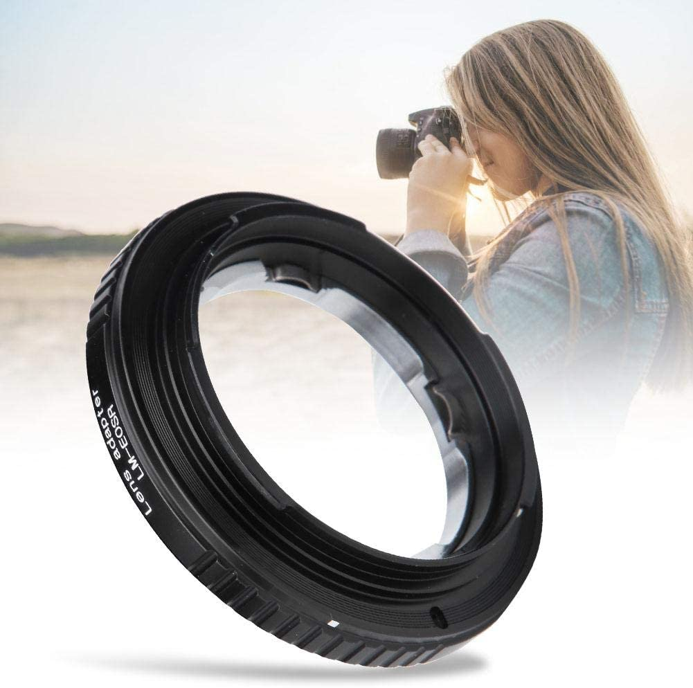 Bewinner Camera Lens Adapters,LM-EOSR Metal Adapter Ring for LM Mount Lens to Fit for EOS R Full Frame Mirrorless Camera,Fine Workmanship,High Precision,Wear-Resistant and Durable