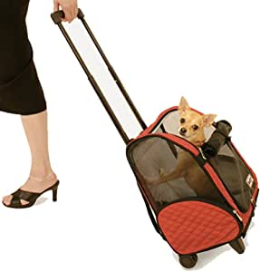 Snoozer Roll Around 4-in-1 Pet Carrier