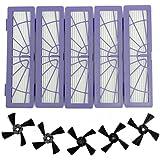 Filtres HEPA pour Neato Botvac série Botvac D, Botvac 70e 75 80 85 D75 D80 D85 D5 D3 Filtres et brosses