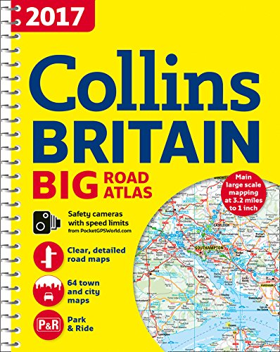 (2017 Collins Big Road Atlas Britain (Collins Britain Big Road Atlas) )