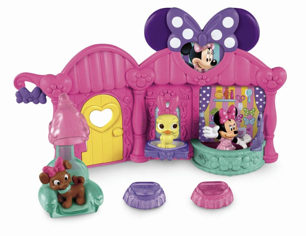 Fisher Price Disney S Minnie Pet Salon 2 Pet Beds Minnie