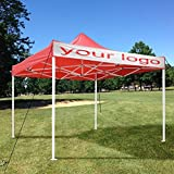 Beth Home 10'x10' Outdoor Pop Up Wedding Party Tent Patio Canopy Sunshade Shelter w/Bag