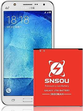 Amazon.com: SNSOU - Batería de repuesto para Samsung Galaxy ...