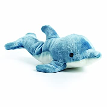 Amazon Com Demdaco Swimming Large Dolphin Friend Sea Blue