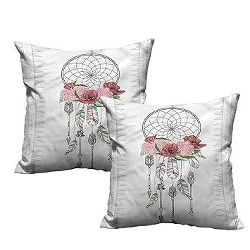 Amazon.com: HeKua Bohemia, funda de almohada adorable a ...