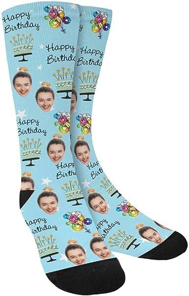 Personalised Mens Birthday Cake Design Socks