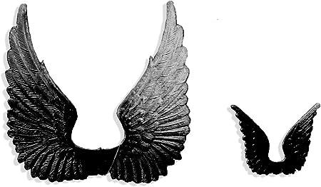 Black Kunze 2-Piece Dresden Medallions Large