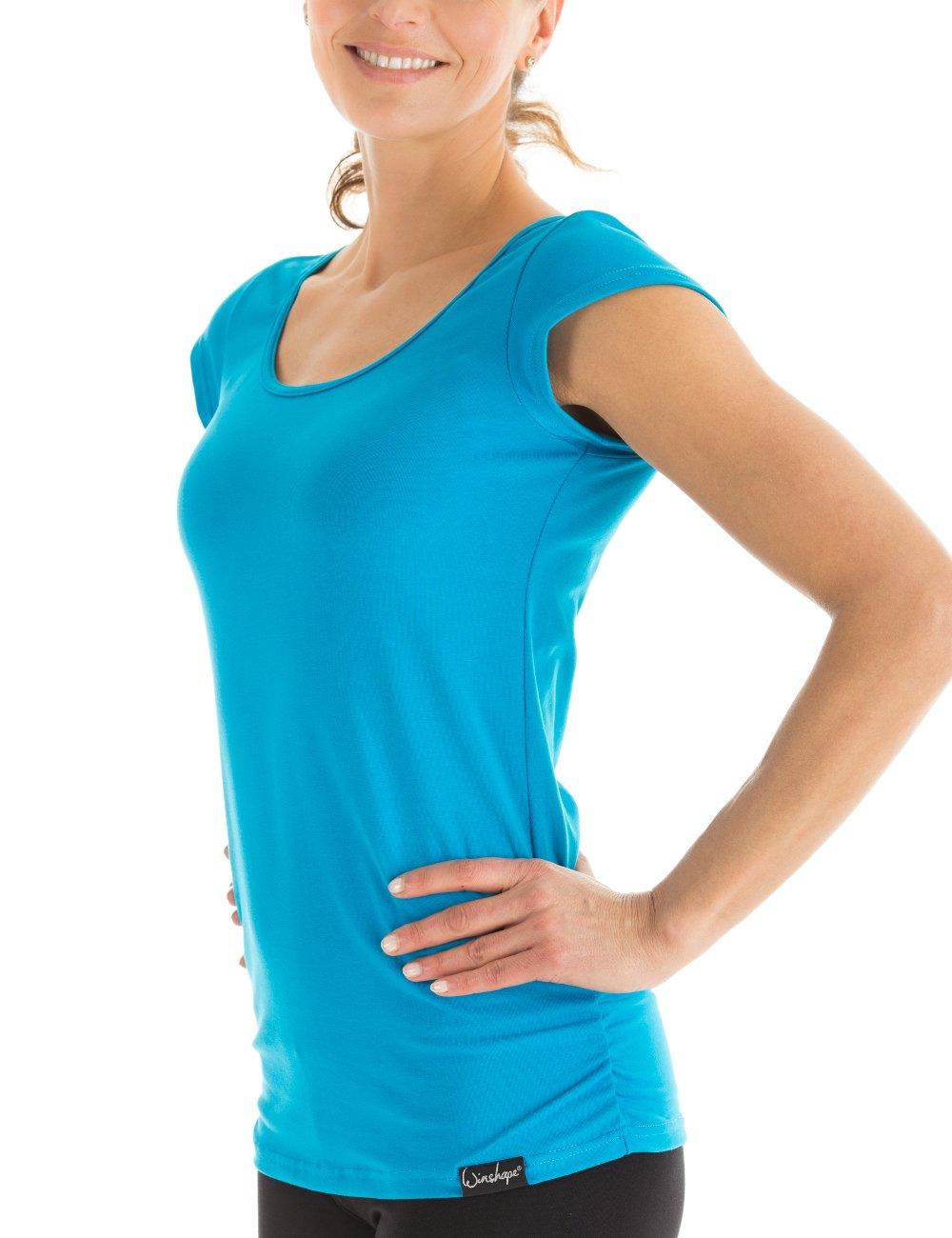 Winston, maglia a maniche corte WTR4 per fitness, tempo libero, yoga e pilates. Winshape