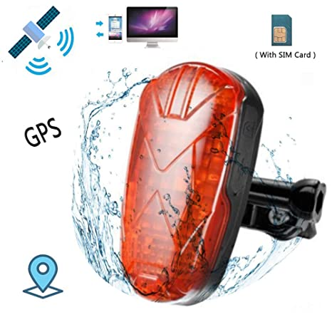 Amazon com: TKSTAR GPS Tracker LED Tail Light,for Bicycle