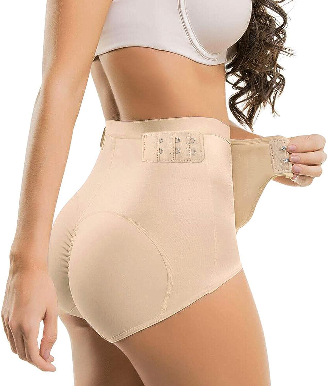 Women Underwear Hip Up Panty Buttock Padded Shapewear Enhancer Body Shaper M-4XL