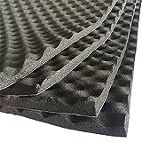 SOOMJ Studio Sound Acoustic Absorption Car Heatproof Foam Deadener 19.7''x31.5'' 4.3sqft,Sound Deadener Car