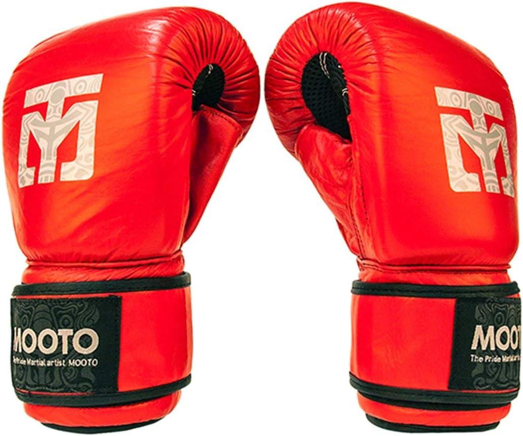 Mooto MMAグローブ_ tg3 Mixed Martial Artsフリーサイズブラックレッド レッド