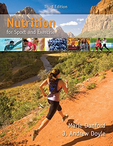 Nutrition for Sport and Exercise by Dunford Marie
