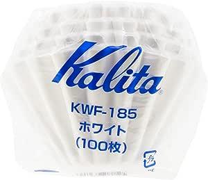 Kalita Wave 185 (100P) Paper Filter, White