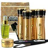 Facial Hair Styles To Look Older - Keratin Cure 0% Formaldehyde Bio-Brazilian Smoothing Hair Treatment Gold & Honey Repair-Straightener Professional 160ml 5 fl oz - 9 Piece Kit