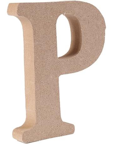 Decorativo De madera Letras, Original Color 26 Alfabeto Madera Letras para ombre Para niños Cumpleaños