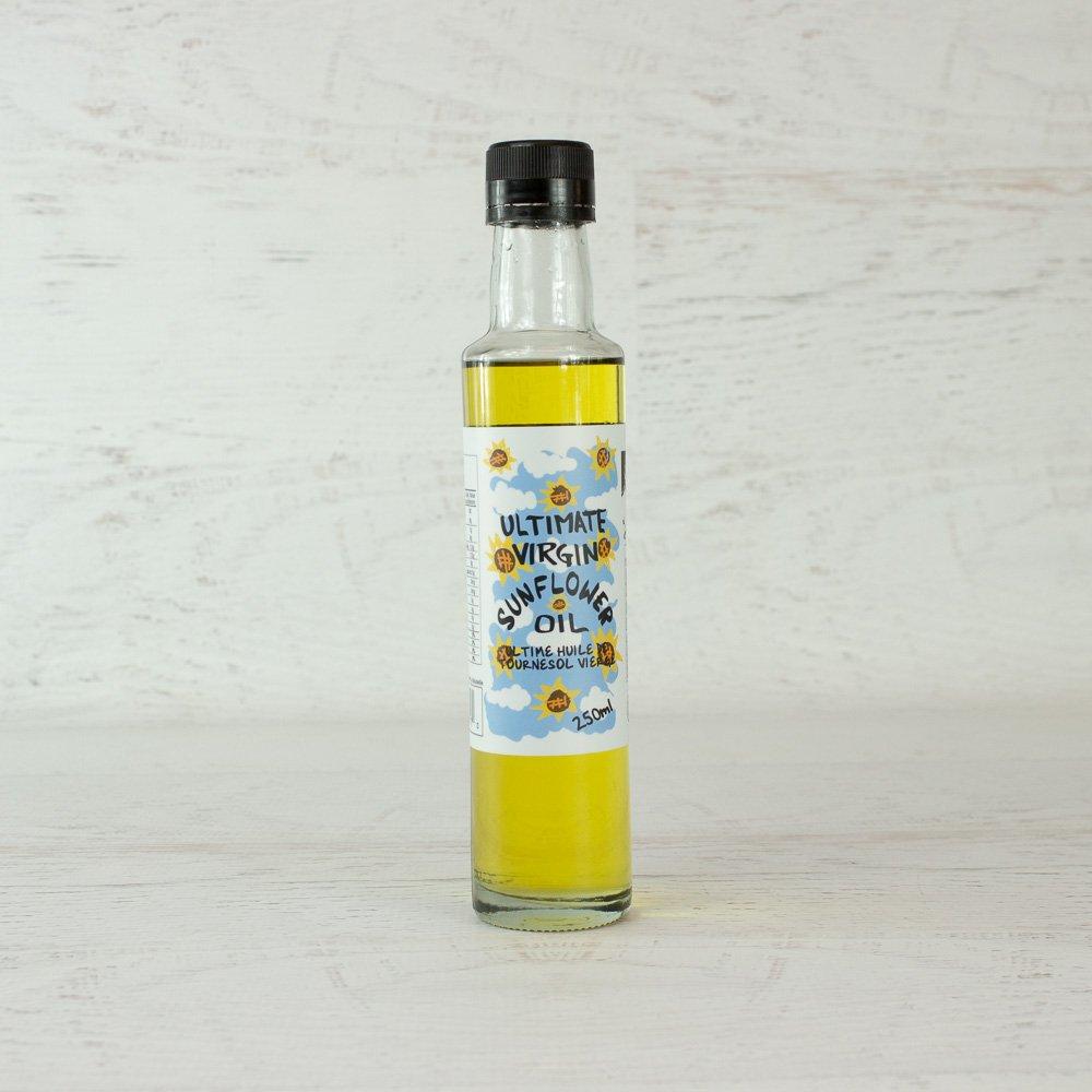 David's Pure Virgin Sunflower Oil - 8.45 fl oz (250 ml) by DAVID'S CONDIMENTS (Image #1)