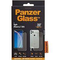 بنزر جلاس غطاء حماية لاجهزة ايفون 11 برو ماكس ، شفاف