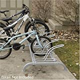 6 Station Adjustable Bike Rack Bike Stand Bicycle Home Storage
