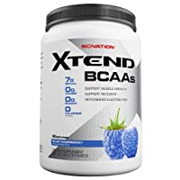 Scivation, Xtend BCAAs, Blue Raspberry, 90 Servings